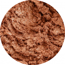 Pigment cosmetic perlat light brown 10g