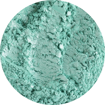 Pigment cosmetic perlat sea green 10g