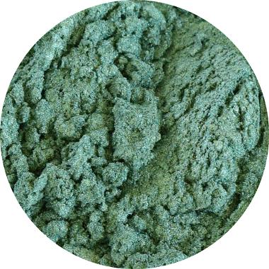 Pigment cosmetic perlat verde smarald 10g