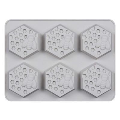 Formă de silicon fagure de miere - 6 cavități