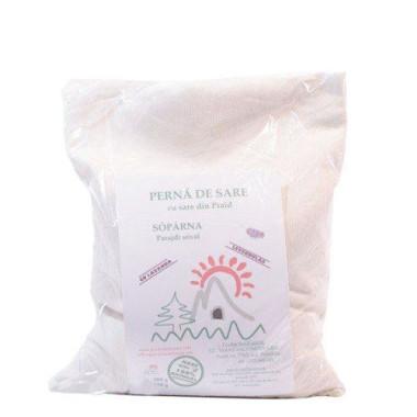 Pernă de sare 1000g - cu lavandă (levențică)