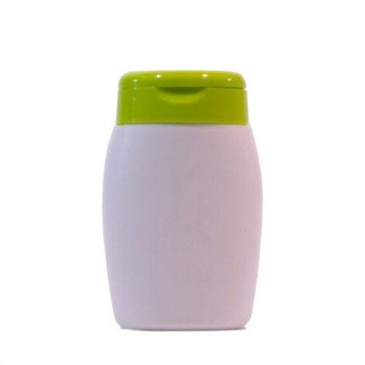 Recipient plastic tip flacon 100 ml cu capac verde