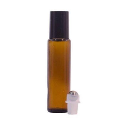 Sticluță Brună cu Roll-on de 15 ml