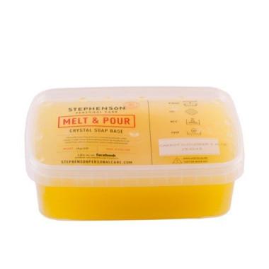 Bază de săpun cu ulei de morcovi, castraveți și aloe vera  Melt&Pour 1000g