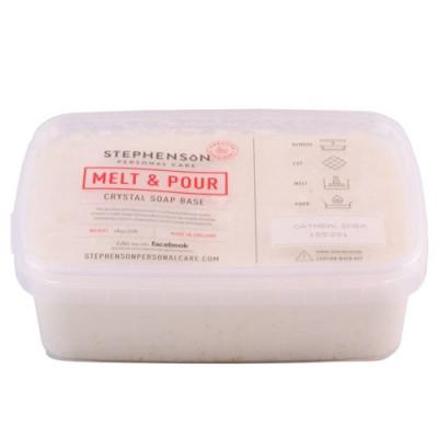 Bază de săpun Melt & Pour cu fulgi de ovăz și unt de shea 1000g