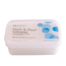 Bază de săpun Melt & Pour cu lapte de măgăriță 1000g