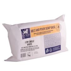 Bază de săpun Low Sweat White 1kg