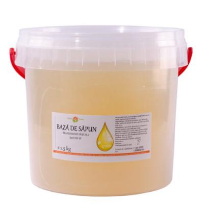 Bază de săpun transparent fără SLS NAH-BS-01 2.5kg