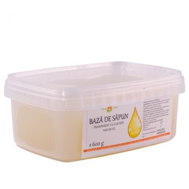 Bază de săpun transparent cu glicozid NAH-BS-02 600g