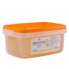 Bază de săpun transparent cu ulei de măsline, fără SLS NAH-BS-04 1kg