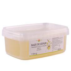 Bază de săpun transparent cu ulei de măsline, fără SLS NAH-BS-04 600g