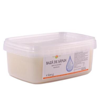 Bază de săpun alb cu glicozid SLS NAH-BS-05 600g
