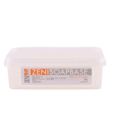 Bază de săpun Melt&Pour Zeni 1kg - TRANSPARENT (Clear)