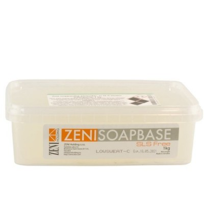 Bază de săpun Melt & Pour Zeni (Lowsweat-C) - Transparent 1000g