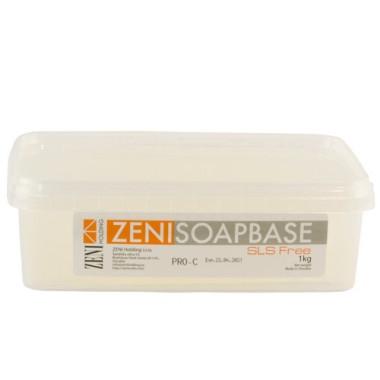 Bază de săpun Melt & Pour Zeni PRO - TRANSPARENT (Clear) 1kg
