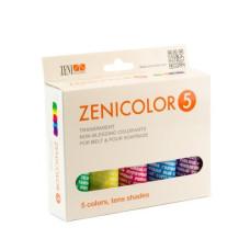 Zenicolor 5 - Pachet coloranți pentru săpun