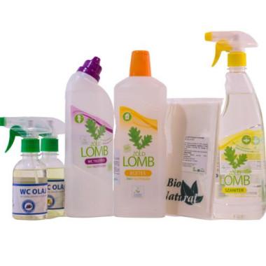 PACHET Detergenți ECOLOGICI și uleiuri de toaletă pentru grupul sanitar și CADOU lavetă bio
