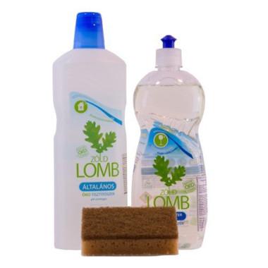 PACHET Detergent ECOLOGIC pt spălat vase cu oțet & Detergent universal și CADOU burete de COCOS