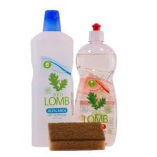 PACHET Detergent ECOLOGIC pt spălat vase cu aloe & Detergent universal și CADOU burete de COCOS