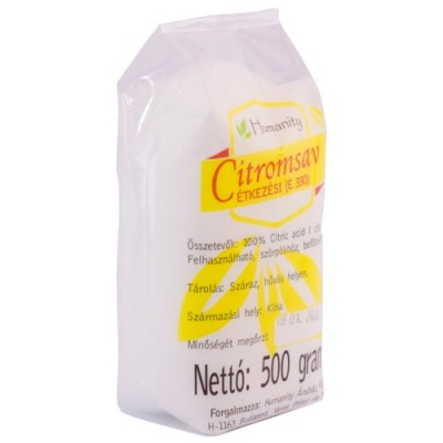 Acid Citric 500g alimentar