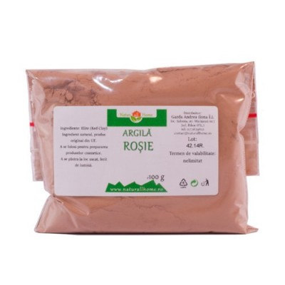 Argilă roșie 100 g