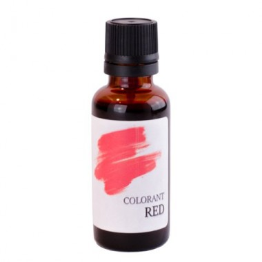 Colorant cosmetic Red 30ml