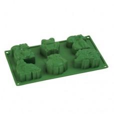 Formă de silicon - Animale de pădure - 6 cavități