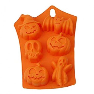 Formă de silicon Halloween II  -6 bucăti