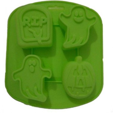 Formă de silicon Halloween -4 bucăti