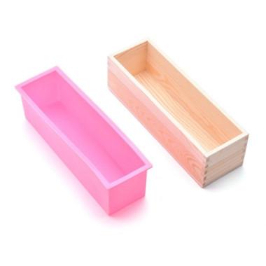 Cutie pentru prepararea săpunurilor cu formă de silicon