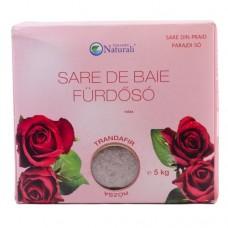 Sare de baie Trandafir - 5kg