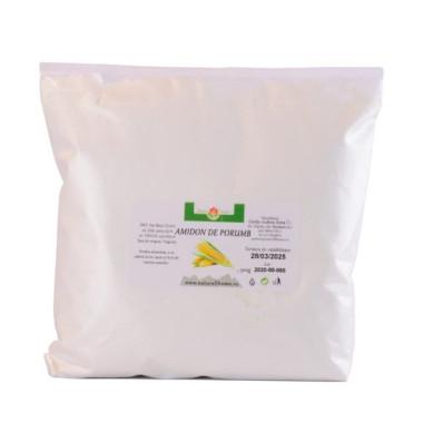 Amidon de porumb alimentar, ambalat la 500g în pungă