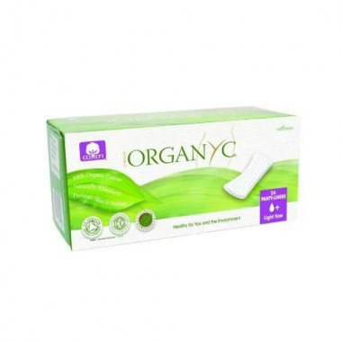 Bio Absorbante zilnice din bumbac organic - 24 buc